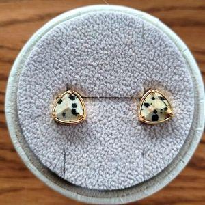 Hillberg&Berk Jasper Stone Earrings